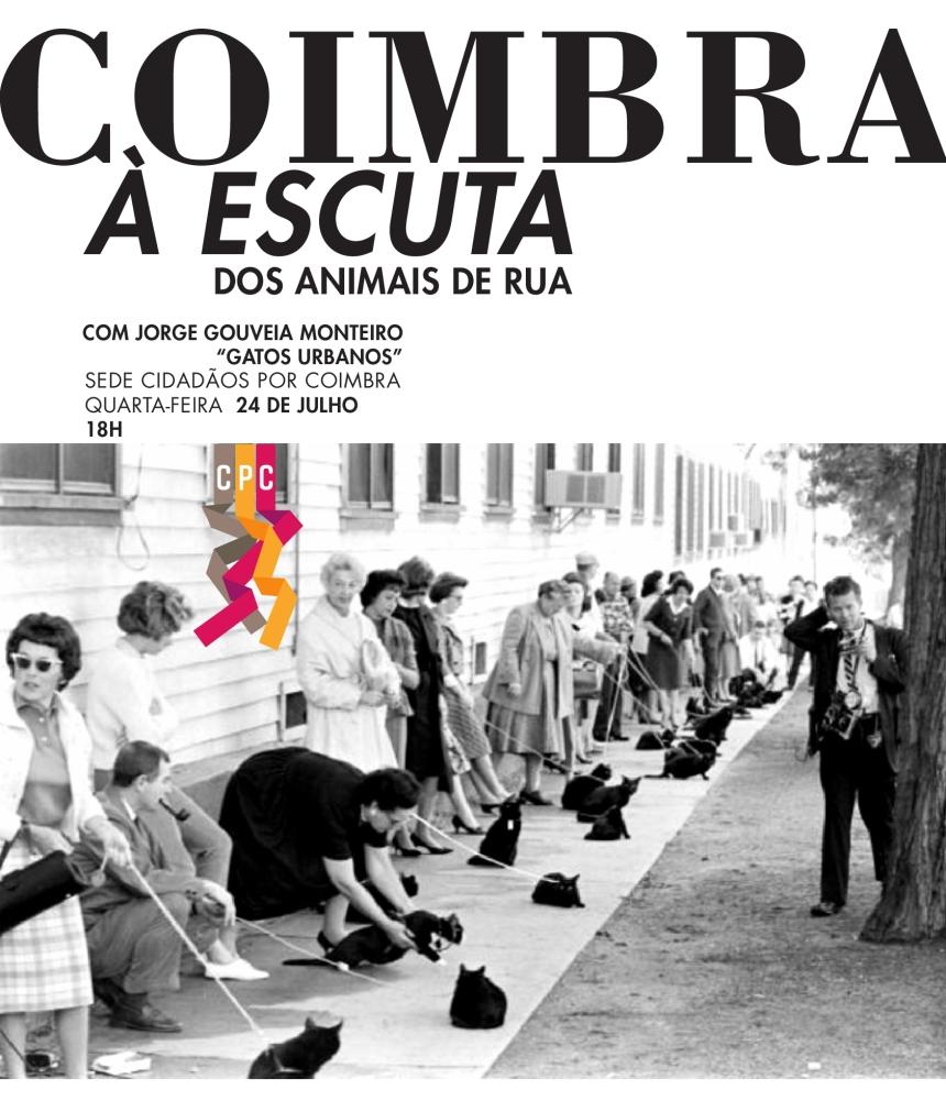 Coimbra à Escuta