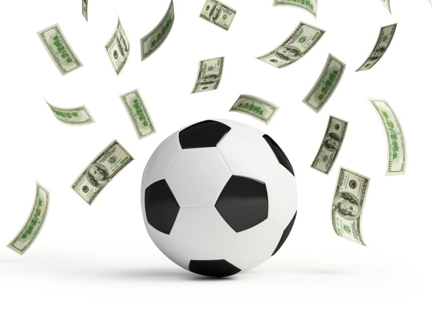 futebol dinheiro