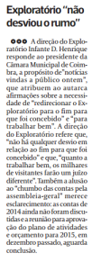 Diário As beiras, 1 de Abril de 2015