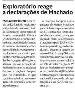 Diário de Coimbra, 1 de Abril de 2015