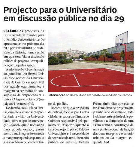 Diário de Coimbra, 9 de Abril de 2015