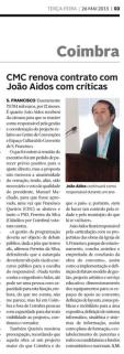 Diário de Coimbra, 26 de Maio de 2015