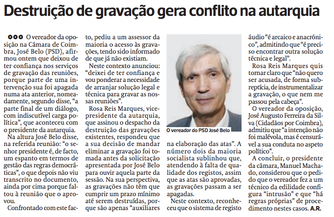 Diário As Beiras, 5 de Agosto de 2015