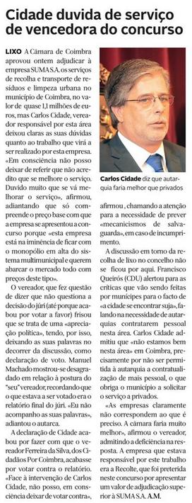 Diário de Coimbra, 18 de Agosto de 2015