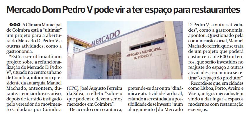 Diário as Beiras, 18 de Agosto de 2015