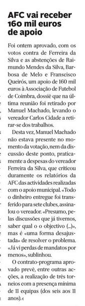Diário de Coimbra, 13 de Outubro de 2015