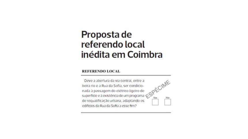 referendo pergunta